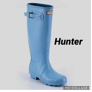 COPY - Hunter Tall Boots In Light blue size 9